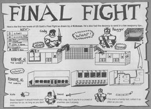 Карта Final Fight
