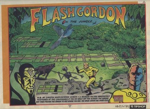 Карта Flash Gordon