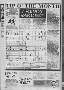 Карта Freddy Hardest