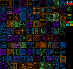 Карта Gauntlet