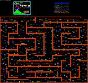 Карта Ghost Castle