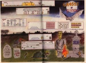 Карта Ghost 'n Goblins