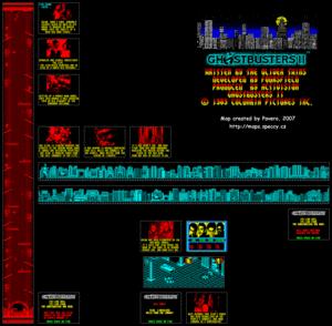 Карта Ghostbusters II