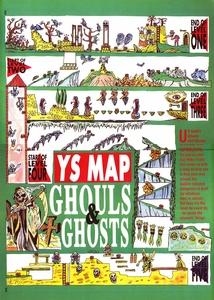 Карта Ghouls 'n' Ghosts