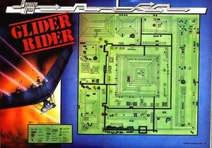 Карта Glider Rider