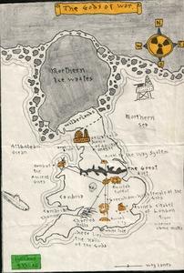 Карта Gods of War, The