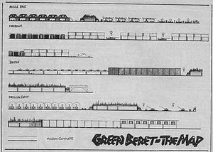 Карта Green Beret