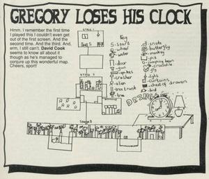 Карта Gregory Loses His Clock