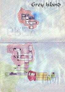 Карта Grey Island