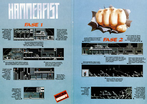 Карта Hammerfist