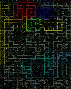 Карта Hamte Damte