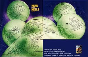 Карта Head over Heels