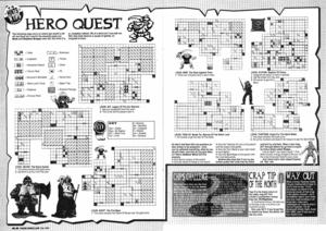 Карта Hero Quest