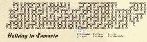 Карта Holiday in Sumaria
