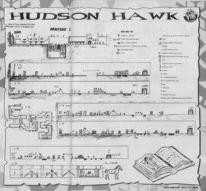Карта Hudson Hawk