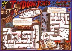 Карта Indiana Jones and the Last Crusade