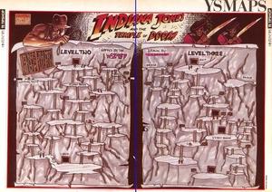 Карта Indiana Jones and the Temple of Doom