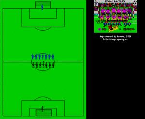 Карта Italia '90 - World Cup Soccer