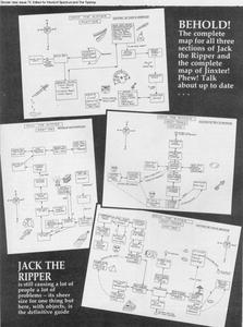 Карта Jack the Ripper