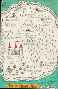 Карта Jester Quest