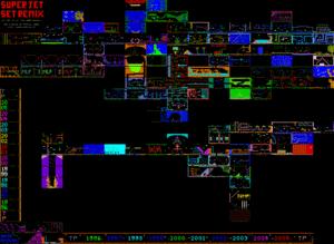 Карта Jet Set Willy: The 2005 Megamix