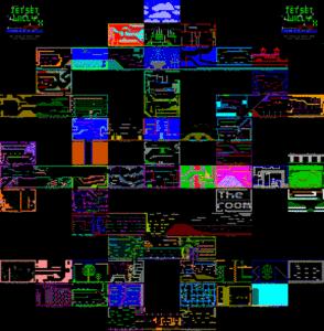 Карта Jet Set Willy X