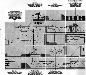Карта Jet Set Willy