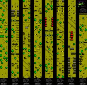 Карта Komando 2
