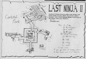 Карта Last Ninja 2