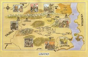 Карта Legend