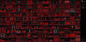 Карта Lode Runner