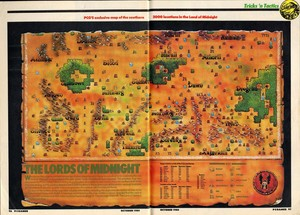 Карта Лорды полуночи