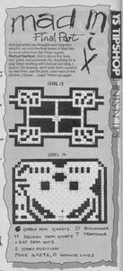 Карта Mad Mix Game