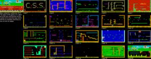 Карта Manic Miner: comp.sys.sinclair