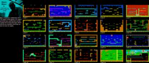 Карта Manic Miner 5: Los Peligros del LSD
