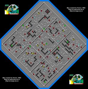 Карта Martianoids