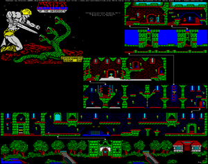 Карта Masters of the Universe - The Arcade Game