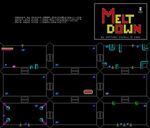 Карта Meltdown