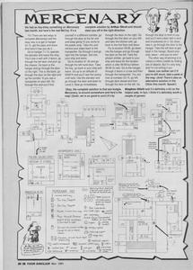 Карта Mercenary