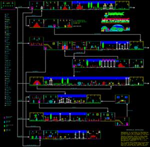 Карта Metropolis