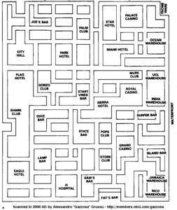 Карта Miami Vice