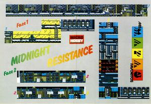 Карта Midnight Resistance