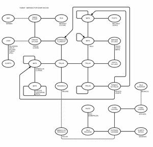 Карта Mina, A
