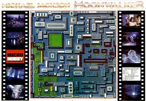 Карта Moonwalker