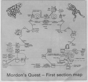 Карта Mordon's Quest