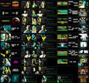 Карта Mortal Kombat