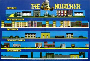 Карта Muncher, The