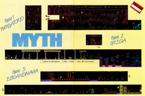 Карта Myth: History in the Making