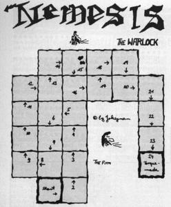 Карта Nemesis the Warlock