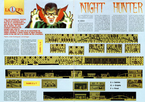 Карта Night Hunter